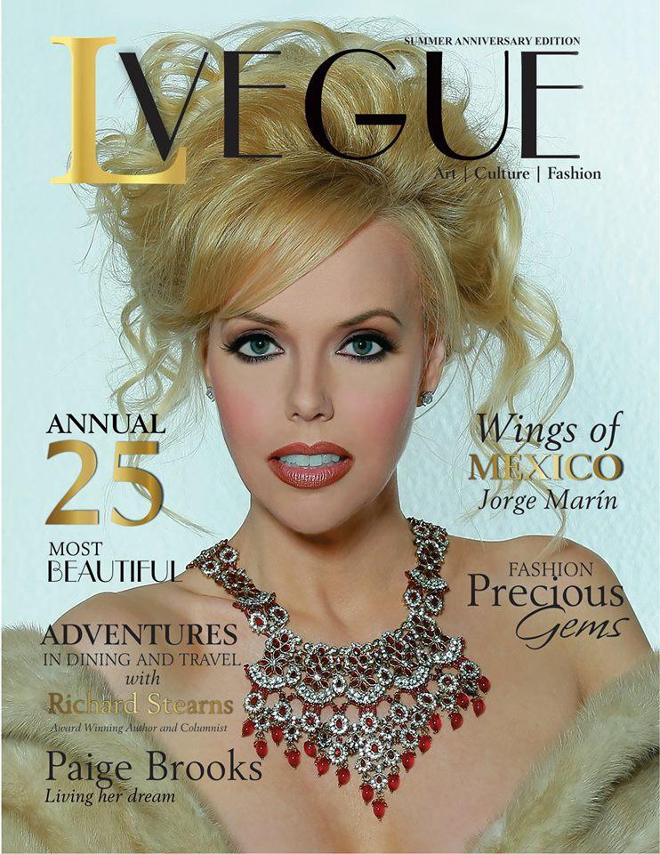 1- L'Vegue- Anniversary Edition 2017- Issuu Version- Magazine Cover- No Vegas