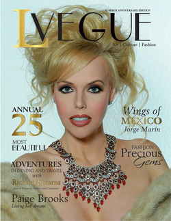 1- L'Vegue- Anniversary Edition 2017- Issuu Version- Magazine Cover- No Vegas