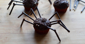 Muffin al cioccolato di Halloween (con sorpresa) facili e veloci!