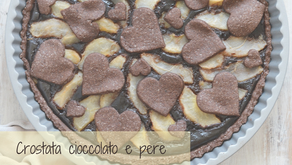 Crostata alle pere e cioccolato: la preferita del papà!