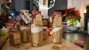Salame al cioccolato in barattoloper Natale