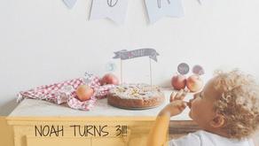 """E sono 3!! Compleanno a tema """"animali del bosco"""": allestimento e ricette"""