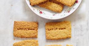"Per un weekend nevoso di fine gennaio…biscotti ""digestive"" ai fiocchi d'avena e farina di mais"