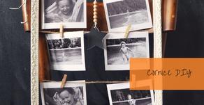 Come riutilizzare una vecchia cornice per appendere le foto