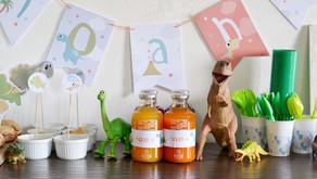 E sono 4: festa a tema dinosauri per Noah