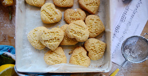 Biscottini al limone e farina di riso (senza glutine)