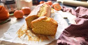 Plumcake al mandarino senza lattosio