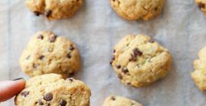 Biscotti tipo cookies senza uova né burro