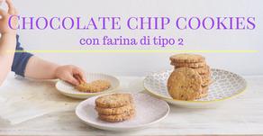Chocolate chip cookies semi integrali