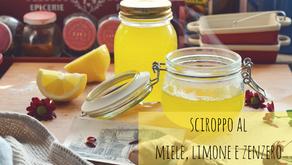 Sciroppo al limone, miele e zenzero. Ricetta con e senza bimby