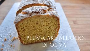 Plum-cake all'olio di oliva