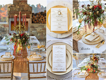 Bella Collina Styled Wedding / Bridal shoot