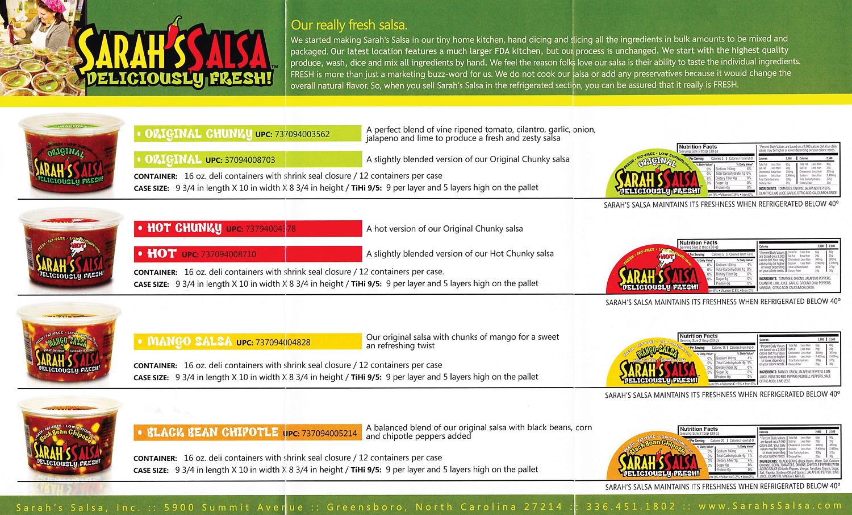 Sarah's Salsa