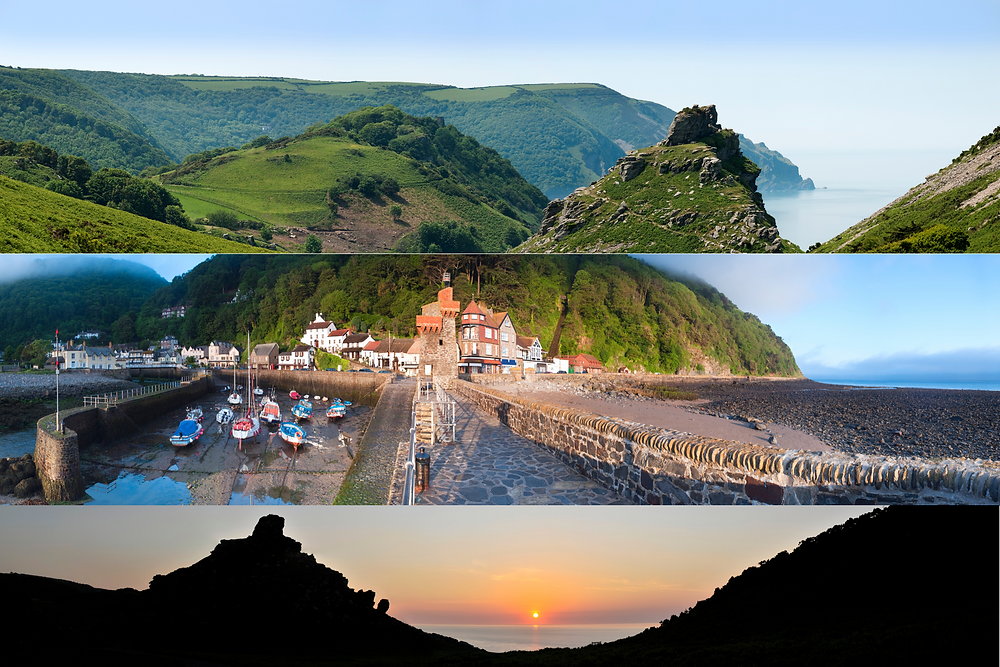 Lynton & Lynmouth, Valley of Rocks, Lynmouth Hotels