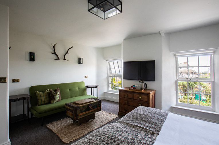 The Seating Area in The Exmoor Suite
