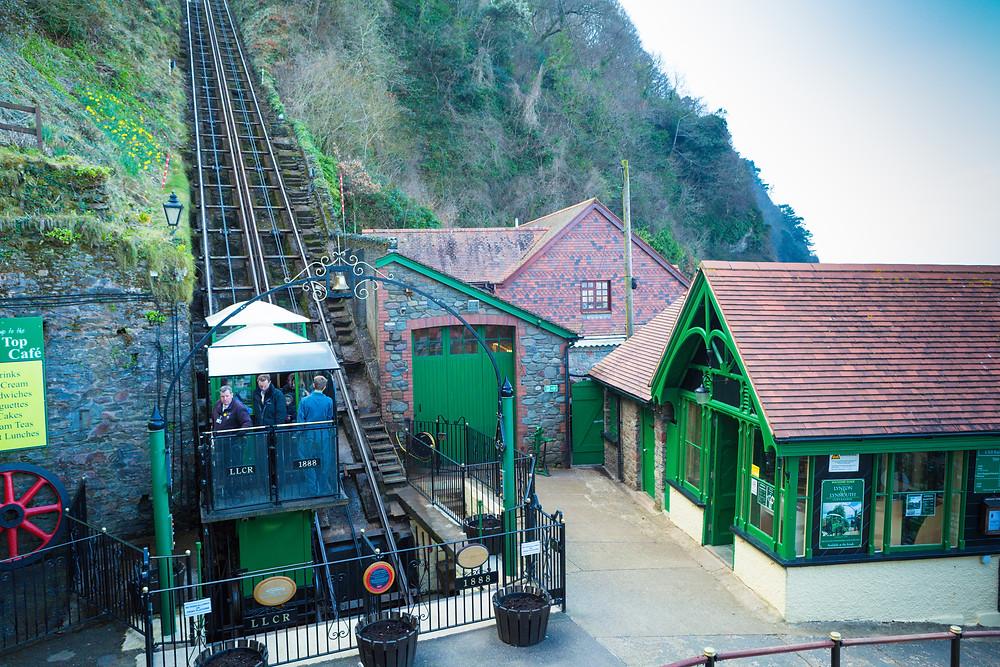 Cliff Railway, Lynmouth, Exmoor, Lynton