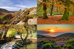 Exmoor, Autumn, Lynmouth Hotels