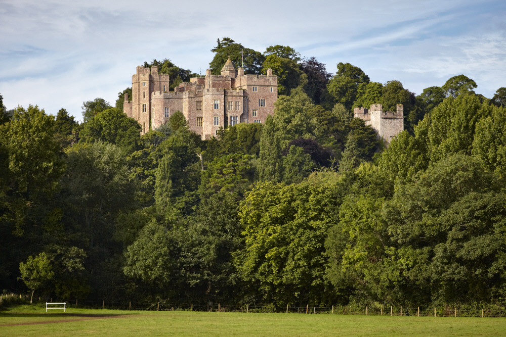 Dunster Castle, Exmoor, Lynmouth Hotels