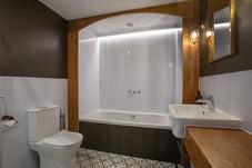 Beautiful bathroom in the Exmoor Suite