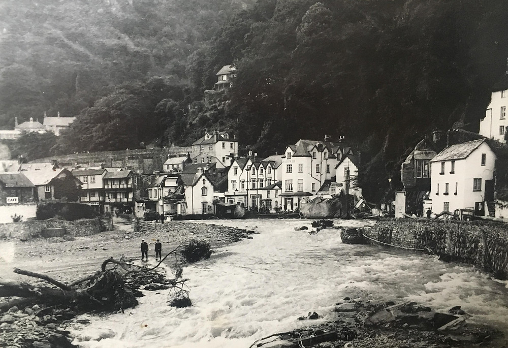 Lynmouth Flood, Lynmouth, Historic Hotel, Lynmouth Hotels