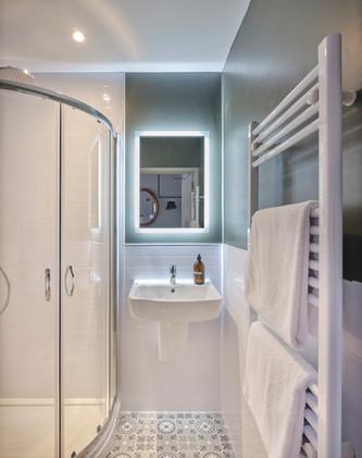 Quirky Twin Bathroom