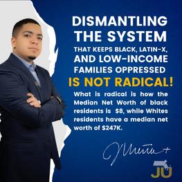Dismantling the system that keeps black,