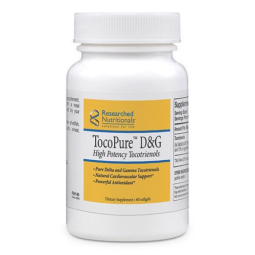 TocoPure D&G - High Potency Tocotrienols GMO Free