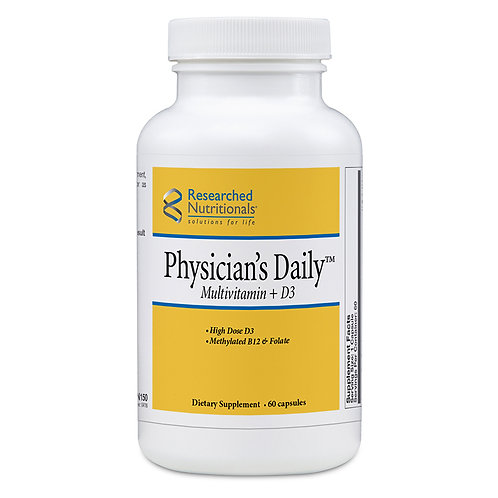 Physicians Daily Mulitivitamin + D3