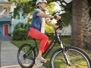 Riding a Bike for health and fitness