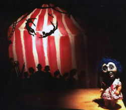 64*frankenocchio*designed by brian kooser, directed by andy kim, shadow puppets by adam