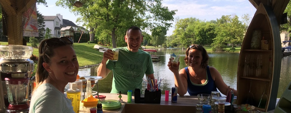 Drinks on the Bar'ge