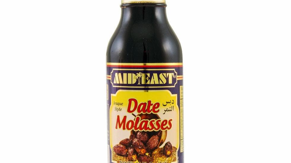 M.E Date Molasses(Date Syrup) 16oz(1pt)