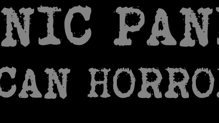 SP81 American Horrorwave Bumper Sticker