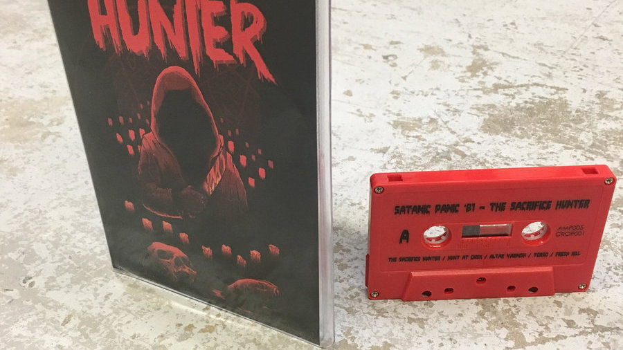 The Sacrifice Hunter Deluxe Cassette (RED- 2nd Pressing)