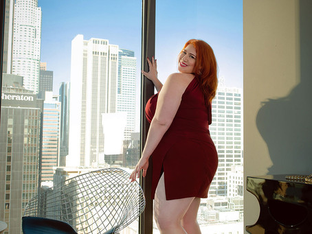 BBW Redhead Charity Sweets is in Long Island