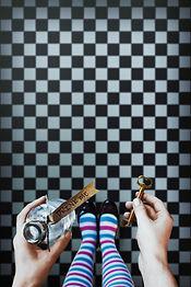 Alice in wonderland. Background. A key a