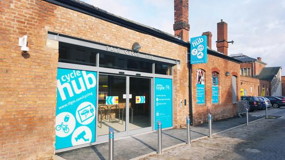 Sale Metrolink Cycle Hub