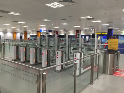 Manchester Airport E-Gates