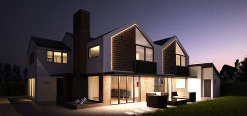 Private House Extension #002