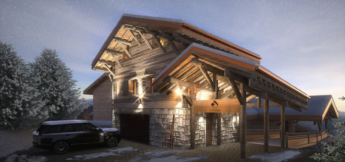 Chalet Sapphire Visualisations