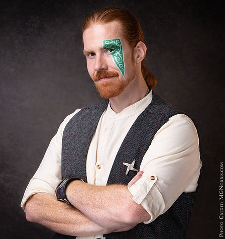 A Headshot of Daniel GreenWolf Star of Celtic Magic An Evening of Irish Illusion