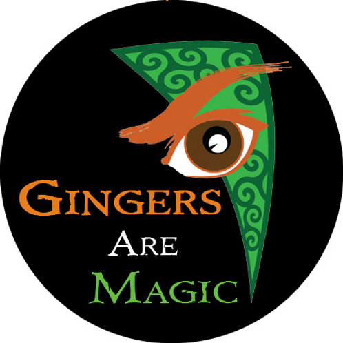 Gingers Are Magic (Version 2) 1.5in Button