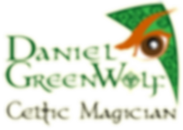 The logo of Celtic Magician Daniel GreenWolf