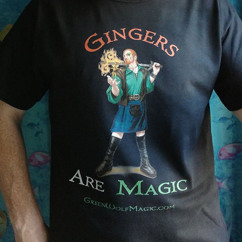 Gingers are Magic Fitted-Cut T-Shirt