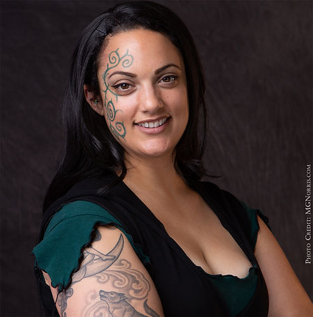 A Headshot of Bella GreenWolf Star of Celtic Magic An Evening of Irish Illusion