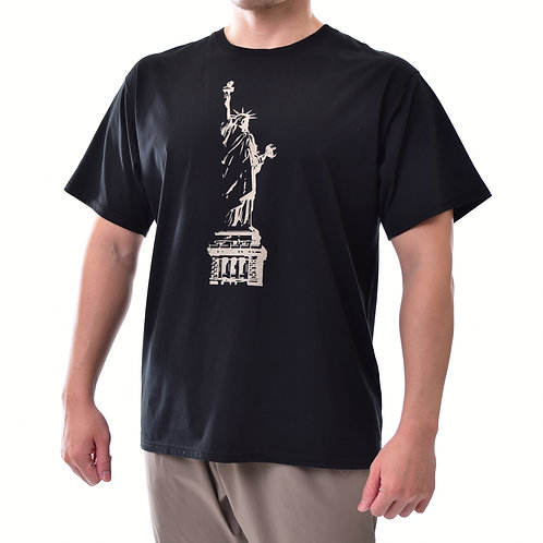 STATUE OF WORKOUT SS TEE