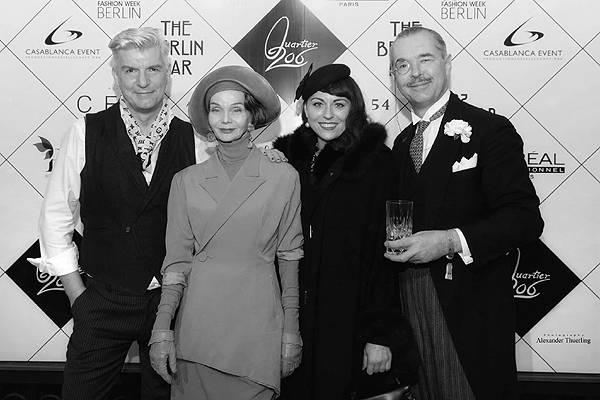 after show party: hernry de winter & britt kanja @ berlin fashion week