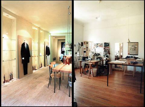 my first shop + studio with rainer wiencke in bremen