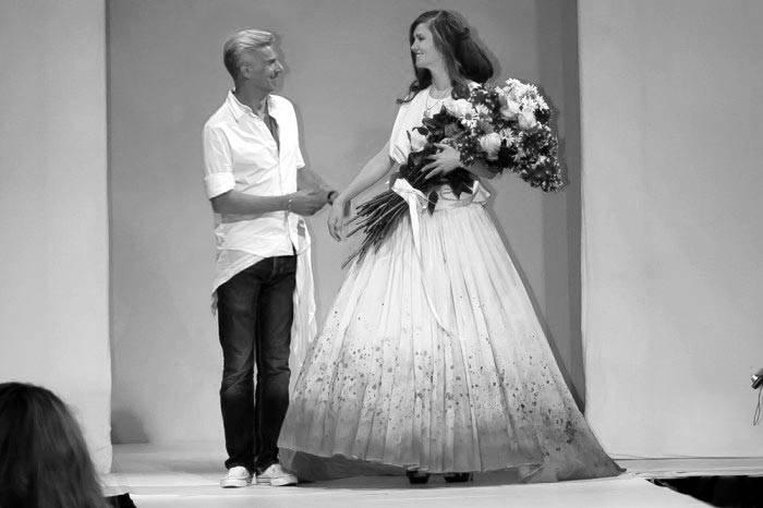 berlin fashion week the bride flowers by DvonK