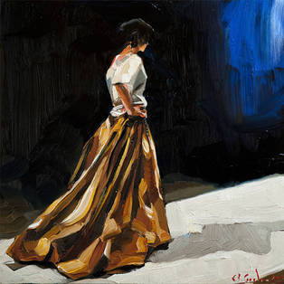 edward b. gorden painting of my show